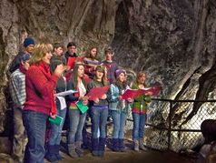 Caroling in the Cave