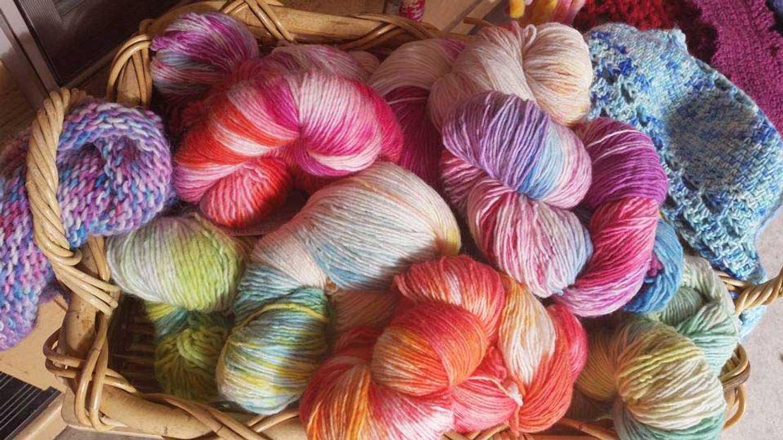 Big Heart Fiber Arts - farm-to-yarn products from their own farm animals