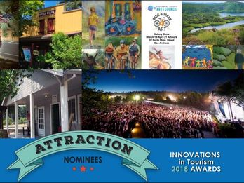 Calaveras Innovations in Tourism Winners