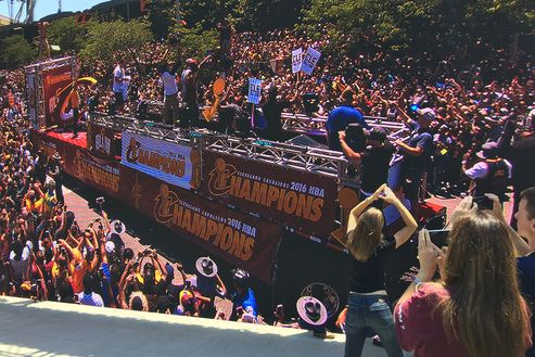 Image 5 for Cleveland Cavaliers Championship Parade & Rally