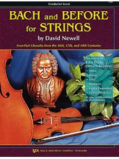Bach And Before For Strings (Conductor Score)