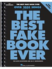 The Best Fake Book Ever - 2nd Edition (Alto Sax / Eb Instruments / Eb Alto Saxophone)