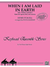 "When I Am Laid in Earth (Air, ""Dido's Lament"" from the opera Dido and Aeneas) - Piano Quartet (2 Pianos, 8 Hands)"