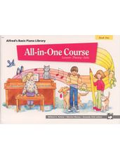 Alfred's All In One  Lesson-Theory-Solo Book 1
