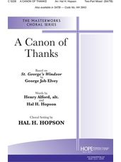 Canon of Thanks, A