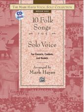 10 Folk Songs for Solo Voice (Book and CD)