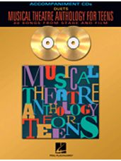 Musical Theatre Anthology for Teens - Accomp CD only