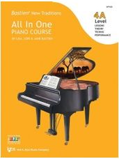 Bastien All in One Piano Course - Level 4A