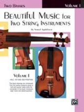 Beautiful Music for Two String Instruments, Book I [2 Basses]