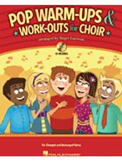 Pop Warm-ups & Work-outs for Choir (Book and CD)
