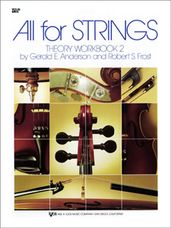 All For Strings Theory Workbook 2-Violin