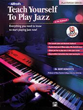 Alfred's Teach Yourself to Play Jazz at the Keyboard (Book/Audio)