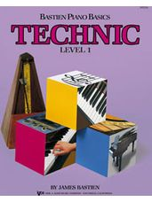 Bastien Piano Basics Level 1 Technic