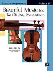 Beautiful Music for Two String Instruments, Book IV [Piano Acc.]