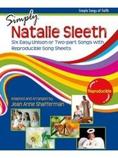 Simply Natalie Sleeth: Six Easy Unison or Two-Part Songs