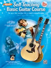 Alfred's Self-Teaching Basic Guitar Course (Book/Online Audio & Video)