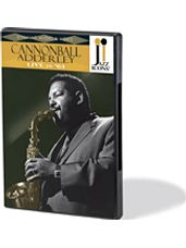 Cannonball Adderley Live In '63 Jazz Icons Dvd