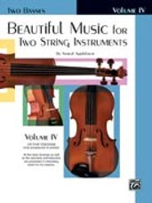 Beautiful Music for Two String Instruments, Book IV [2 Basses]
