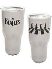 30 oz Stainless Steel Vaccuum Travel Tumbler - Abbey Road