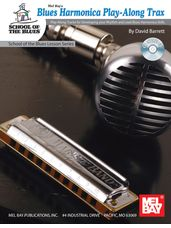 Blues Harmonica Play-Along Trax