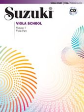 Suzuki Viola School Viola Part & CD, Volume 7 [Viola]